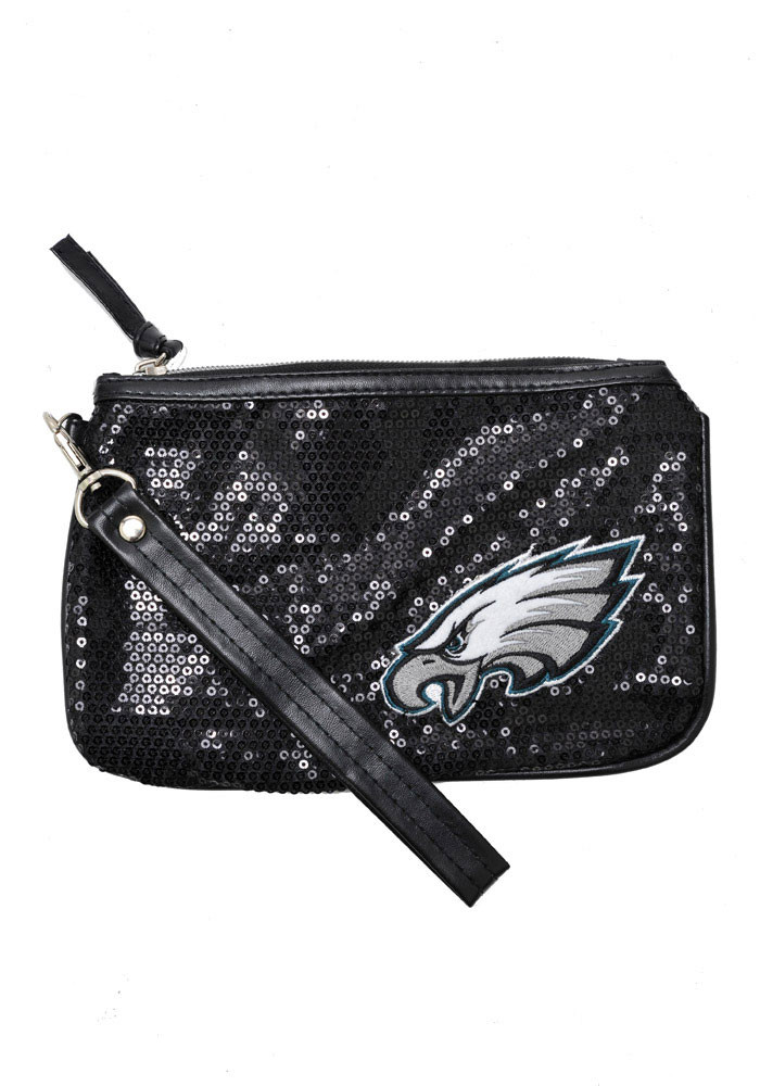 Philadelphia Eagles Stat Sequin Womens Purse - Image 1