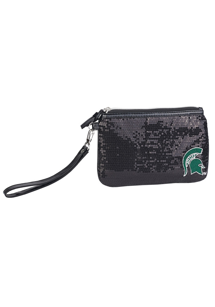 Michigan State Spartans Stat Sequin Womens Purse - Image 1
