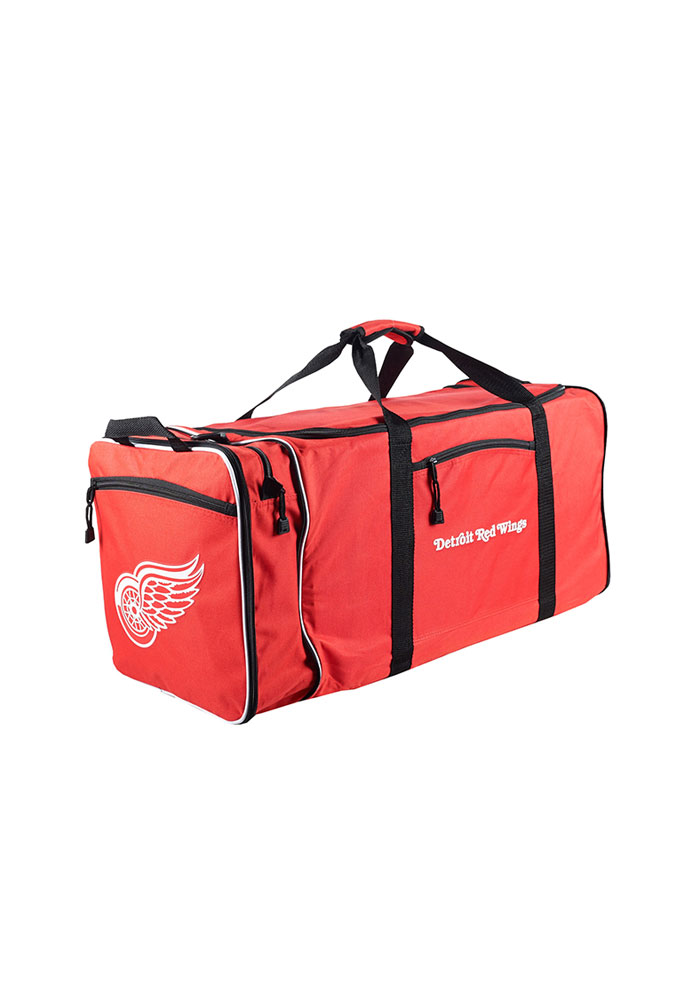Detroit Red Wings Red Steal Gym Bag - Image 1