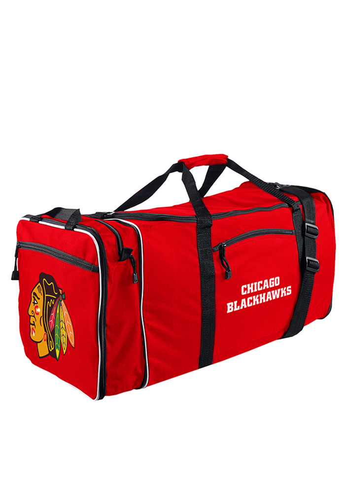 Chicago Blackhawks Red Steal Gym Bag - Image 1