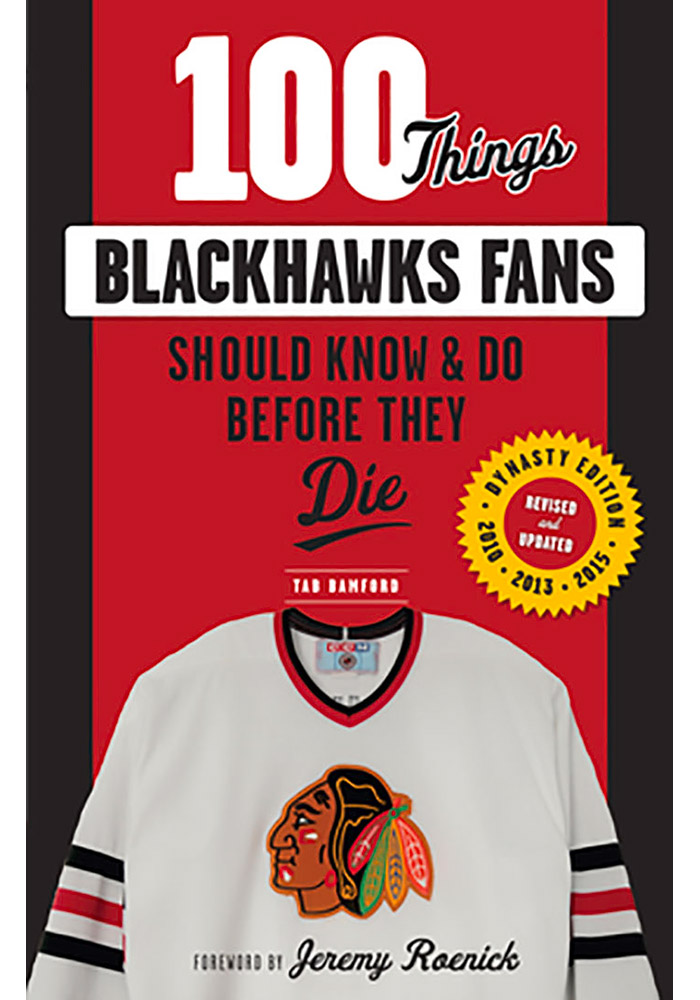 Chicago Blackhawks 100 Things Fan Guide - Image 1