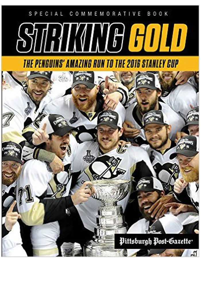 Pittsburgh Penguins 2016 Stanley Cup Champions Commemorative Fan Guide, Black, Paper