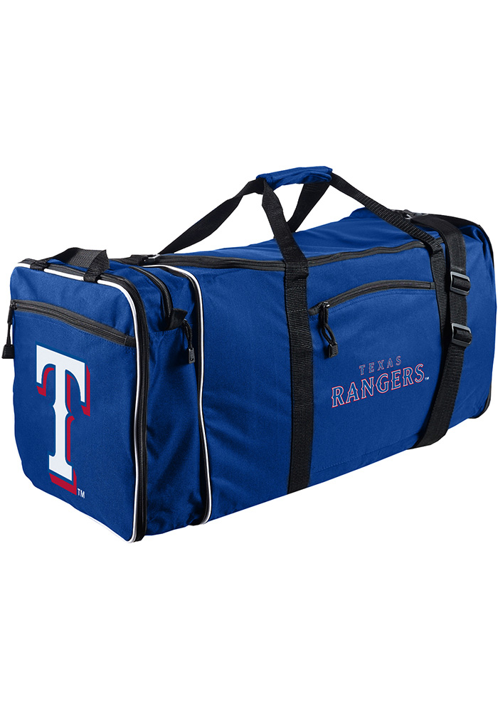Texas Rangers Navy Blue Steal Gym Bag - Image 1