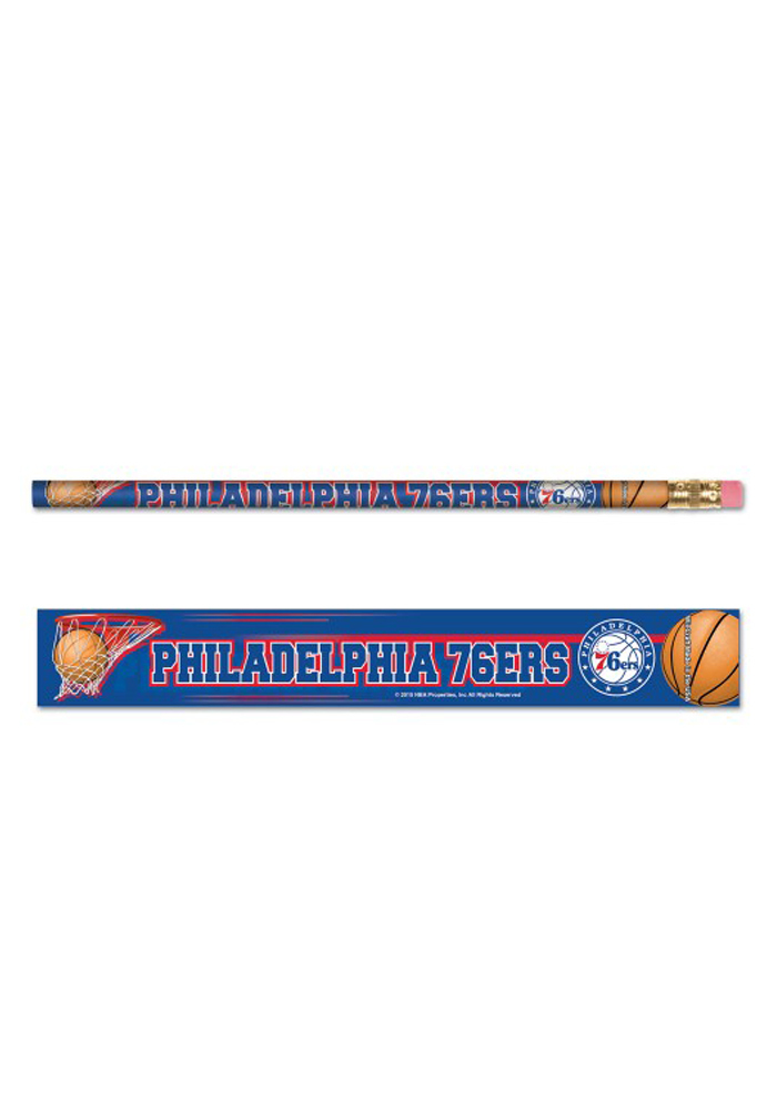 Philadelphia 76ers 6 Pack Pencil - Image 1