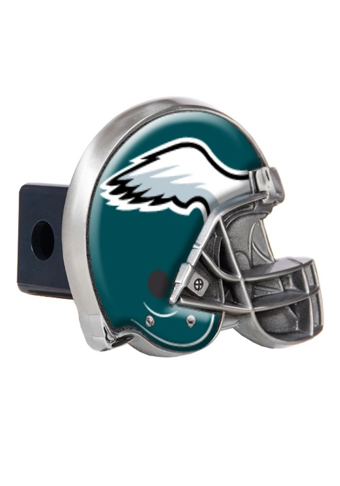 Philadelphia Eagles Helmet Car Accessory Hitch Cover - Image 1