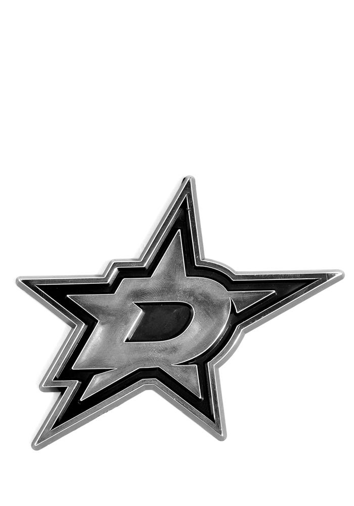 Dallas Stars Plastic Car Emblem - Green - Image 1