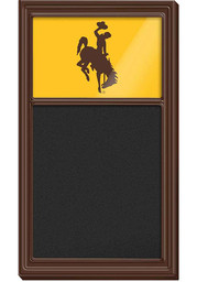 Wyoming Cowboys Chalk Noteboard Sign