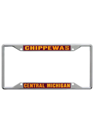 Central Michigan Chippewas Team Name License Frame