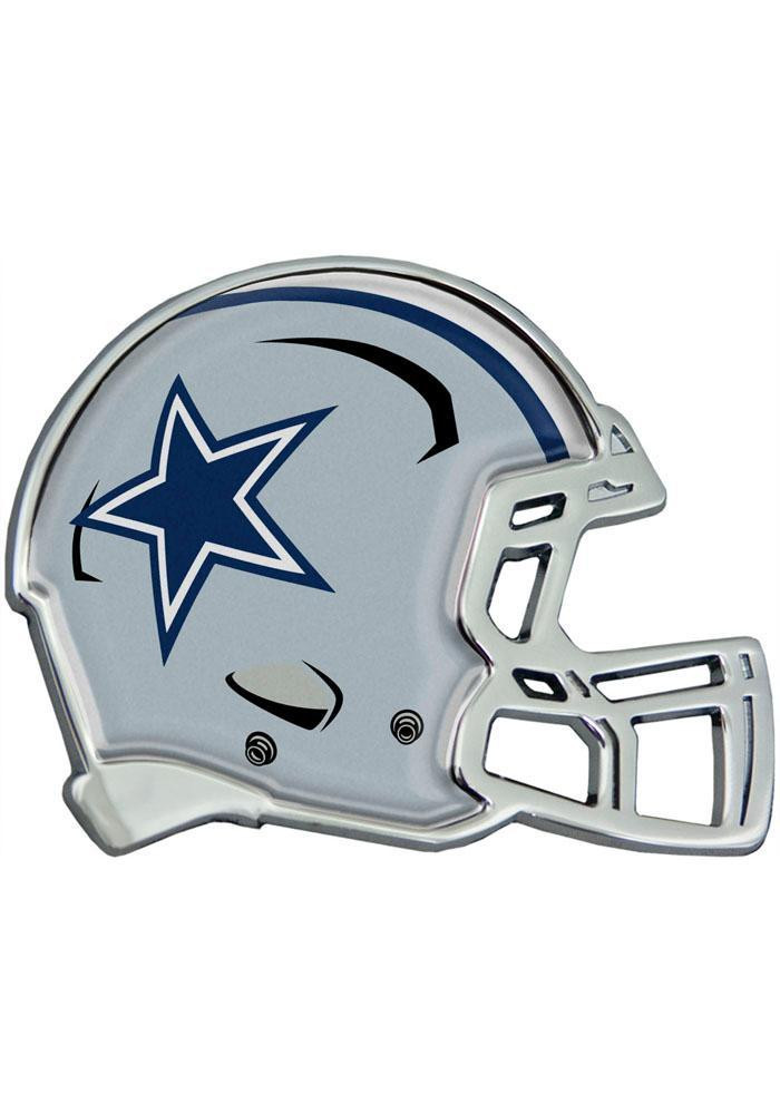 Dallas Cowboys Domed Helmet Car Accessory Car Emblem - Image 1