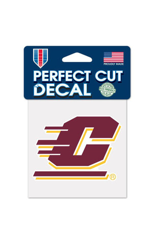 Central michigan chippewas logo decal