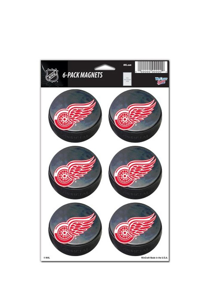 Detroit Red Wings 6 Pack Magnet - Image 1