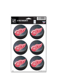 Detroit Red Wings 6 Pack Magnet