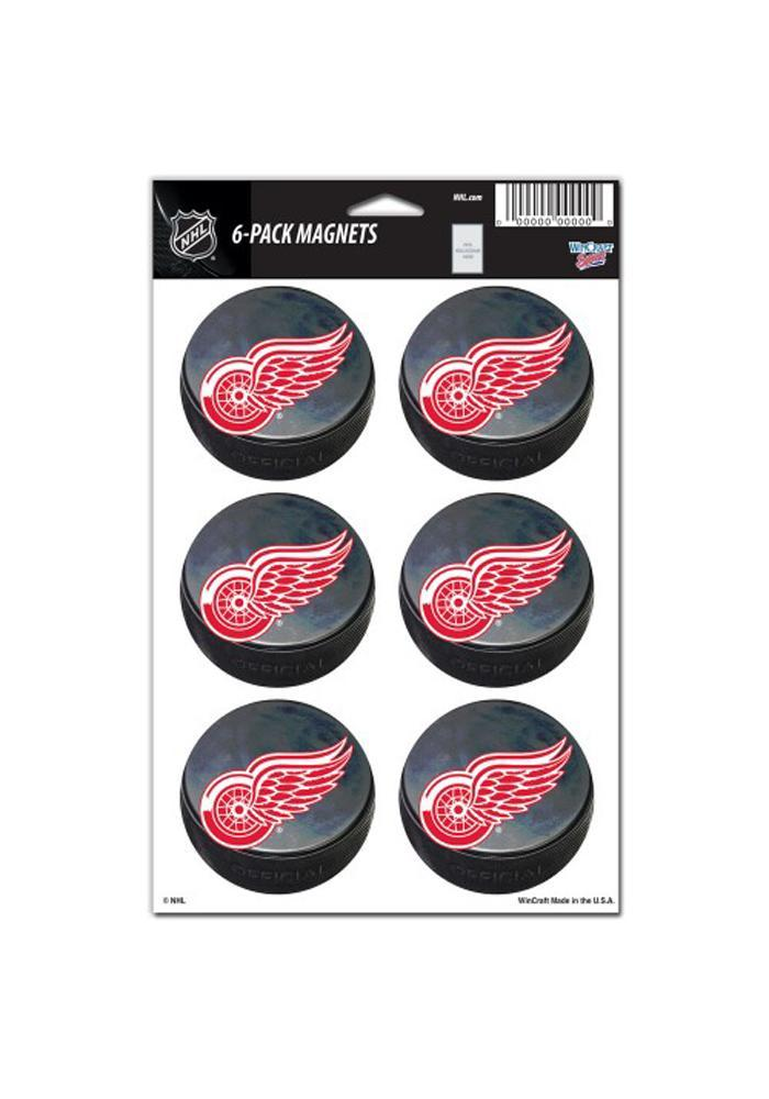 Detroit Red Wings 6 Pack Magnet - Image 2