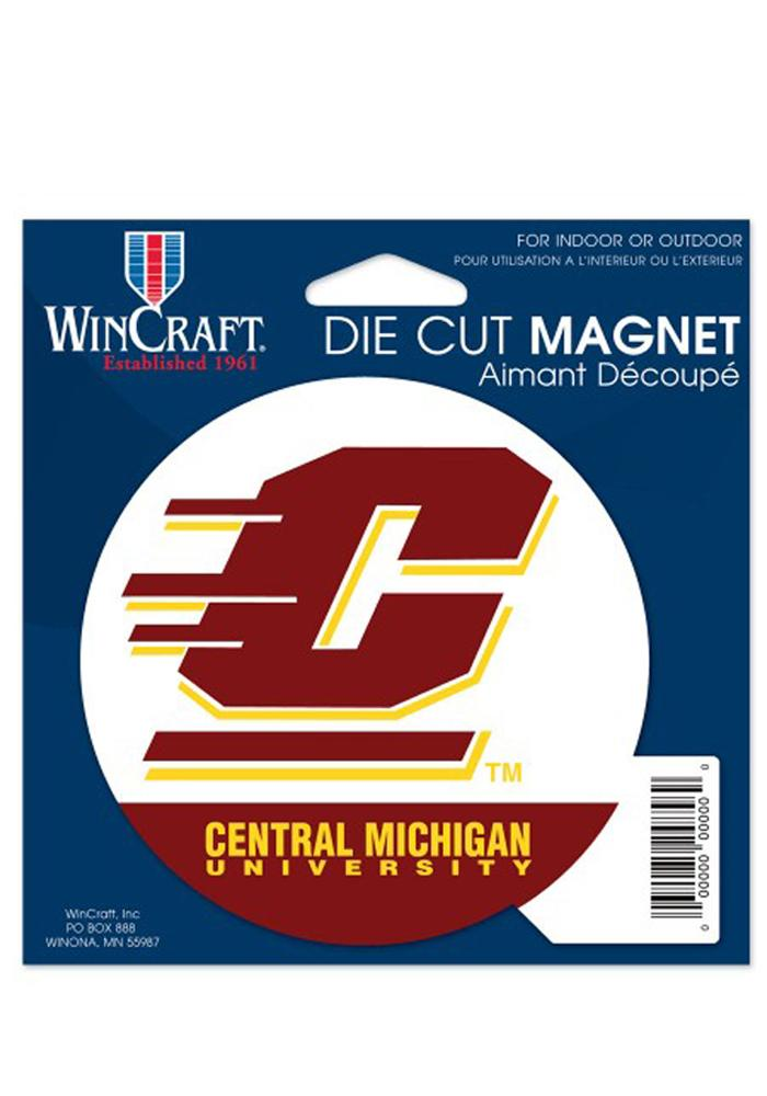 Central Michigan Chippewas Die Cut Magnet - Image 1