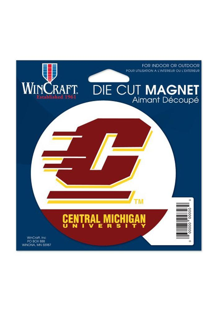 Central Michigan Chippewas Die Cut Magnet - Image 2