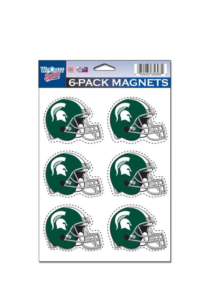 Michigan State Spartans 6 Pack Magnet