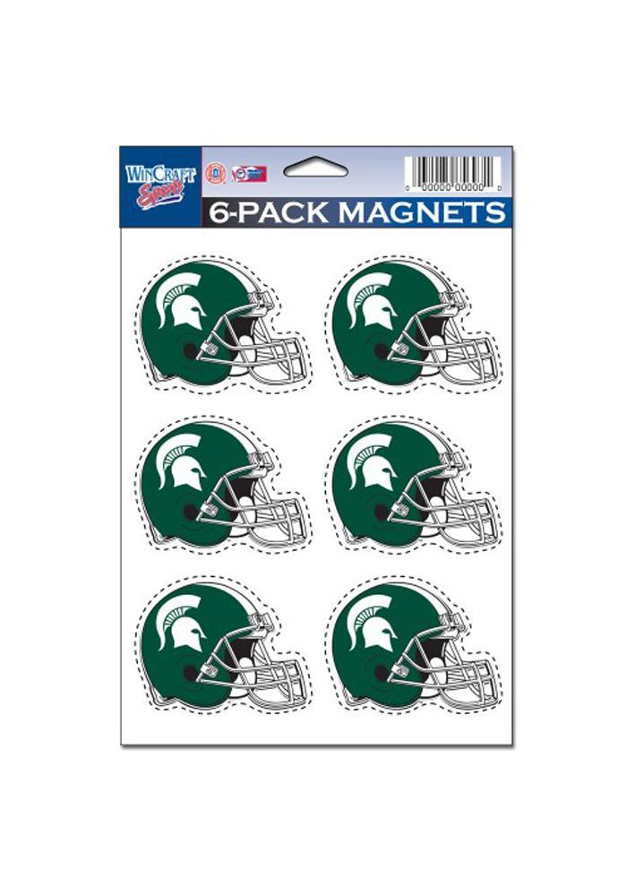 Michigan State Spartans 6 Pack Magnet - Image 1