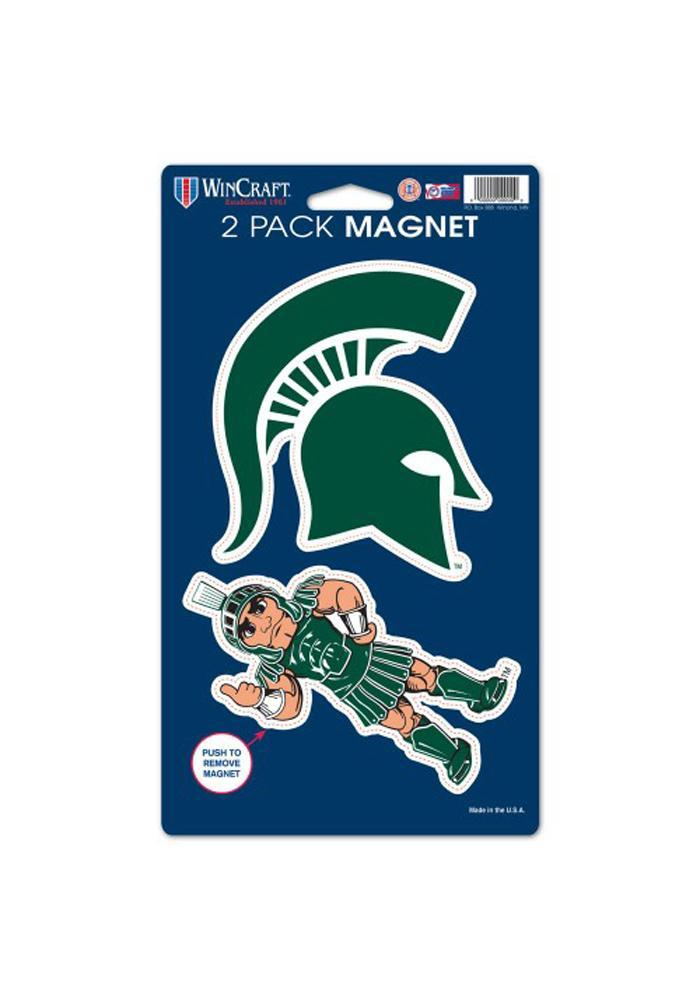 Michigan State Spartans 5x9 2pk Magnet - Image 1