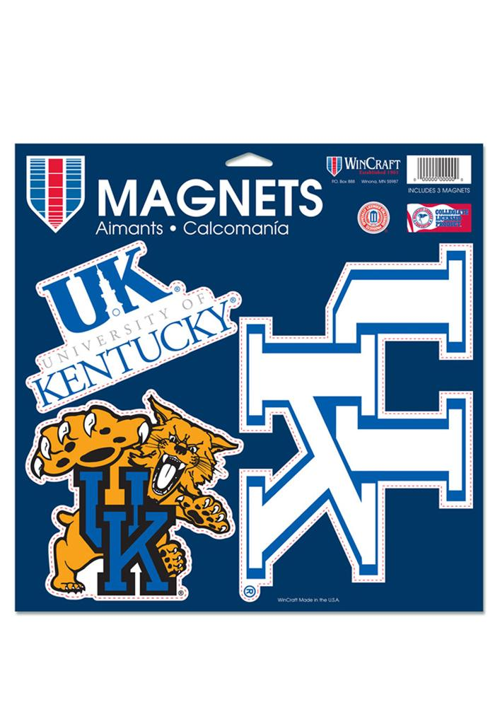 Kentucky Wildcats 11x11 Multi Pack Car Accessory Car Magnet - Image 1