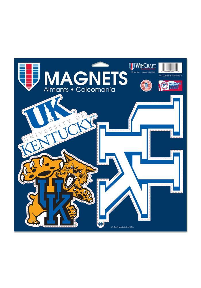 Kentucky Wildcats 11x11 Multi Pack Car Accessory Car Magnet - Image 2