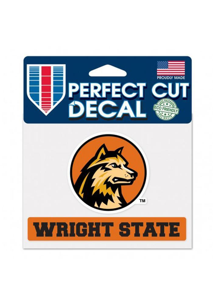 Wright State Raiders 4.5x5.75 Perfect Cut Decal - Image 2