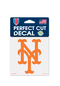 New York Mets 4x4 Auto Decal - Blue