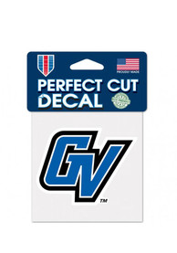 Grand Valley State Lakers 4x4 Perfect Cut Auto Decal - Blue