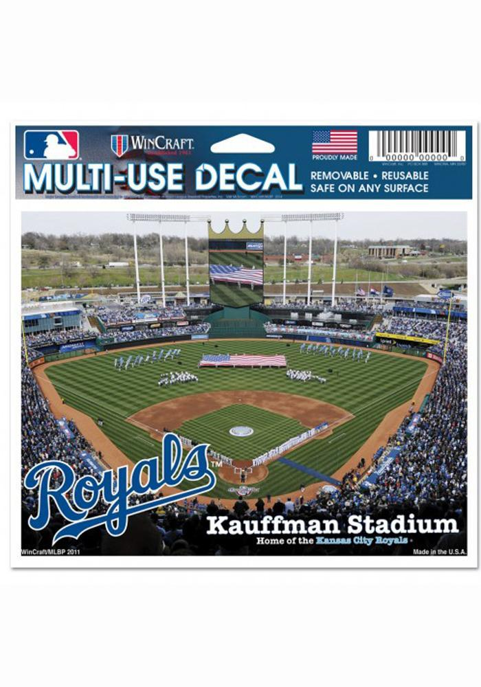 Kansas City Royals 5x6 Multi Use Auto Decal - Green - Image 2