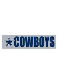 Dallas Cowboys 3x12 Bumper Sticker - Blue