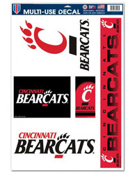 Cincinnati Bearcats 11x17 Multi Use Auto Decal - Red