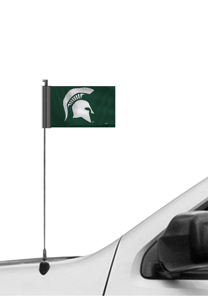 Michigan State Spartans 3.5x5.5 Antennae Flag - Image 1
