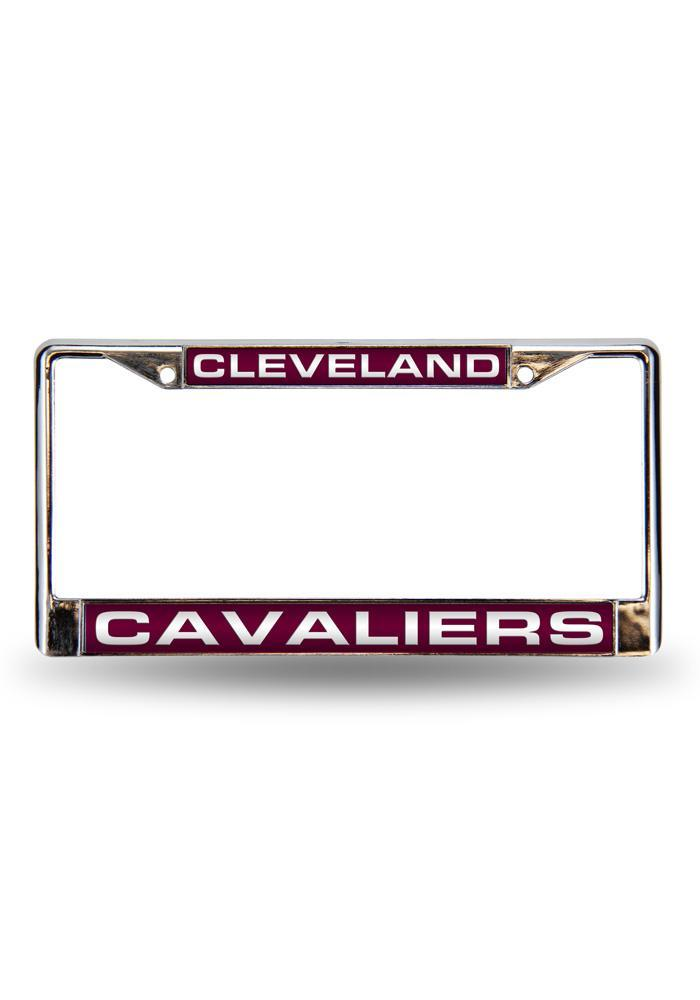 Cleveland Cavaliers Team Name Chrome License Frame - Image 2
