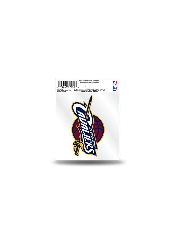 Cleveland Cavaliers Small Auto Static Cling - Image 2
