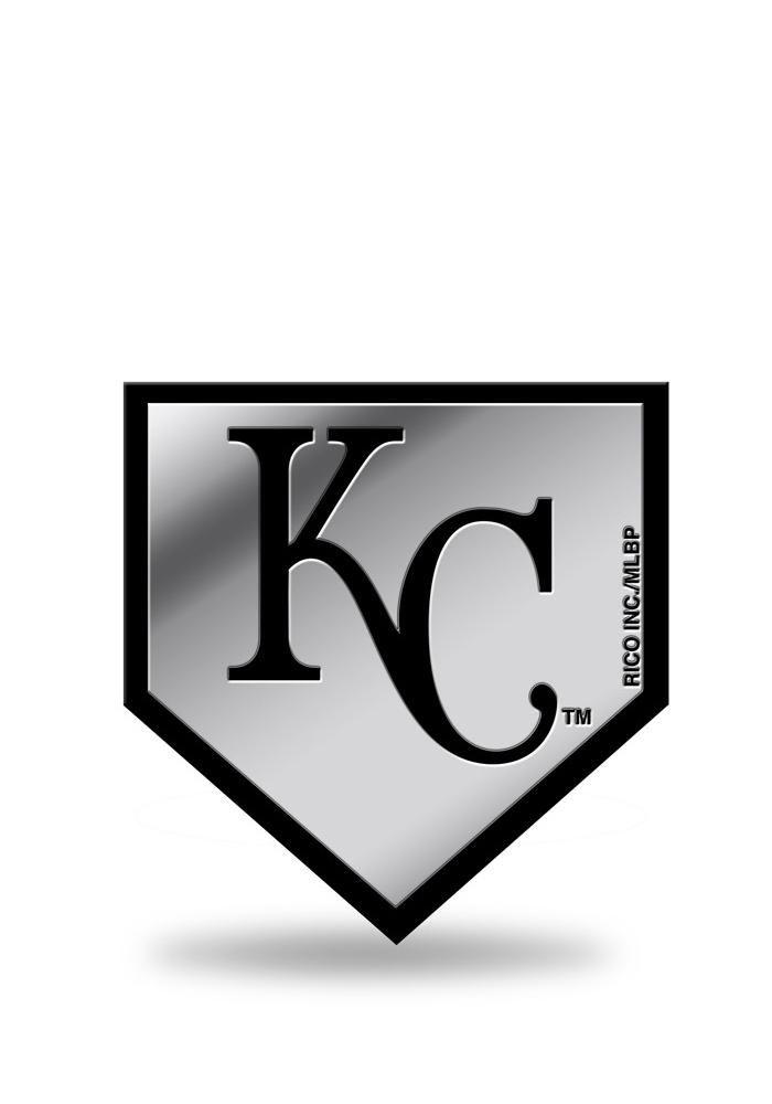 Kansas City Royals Molded Plastic Car Emblem - Grey