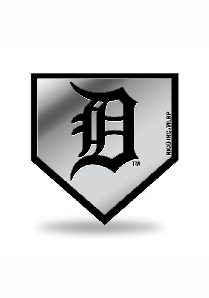 Detroit Tigers Molded Plastic Car Accessory Car Emblem - Image 1