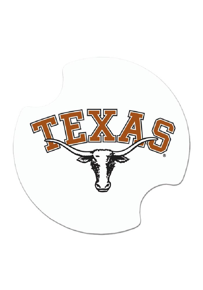 Texas Longhorns 2 Pack Auto Car Coaster - Image 1