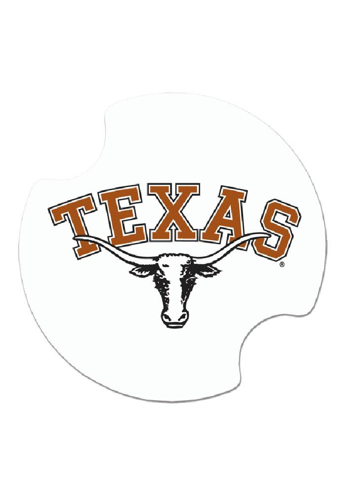 Texas Longhorns 2 Pack Auto Car Coaster - Image 2