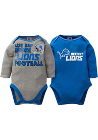 Detroit Lions Baby Blue More Football One Piece