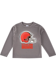 Cleveland Browns Baby Grey Helmet T-Shirt