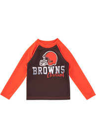 Cleveland Browns Baby Brown Sublimated T-Shirt