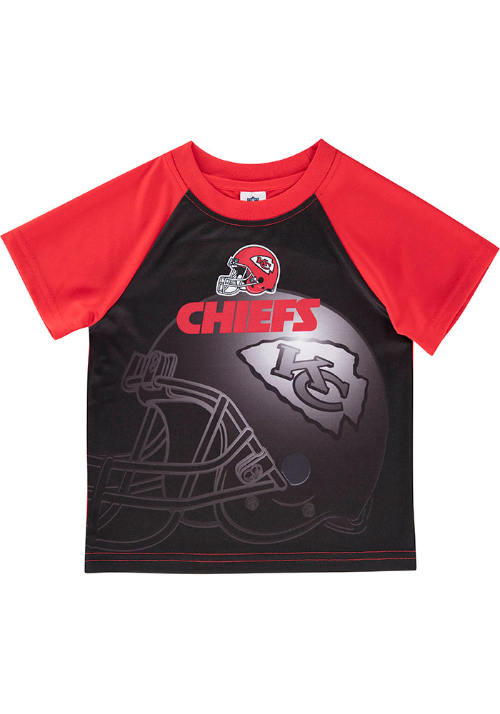 Kansas City Chiefs Infant Champs Short Sleeve T-Shirt Red - Image 1