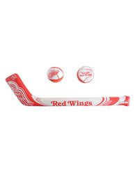 Detroit Red Wings Soft Puck and Hockey Stick Softee Ball