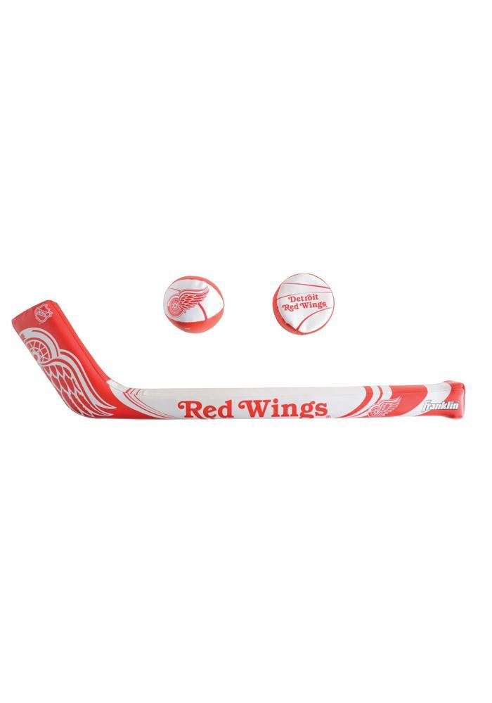 Detroit Red Wings Soft Puck and Hockey Stick Softee Ball - Image 1