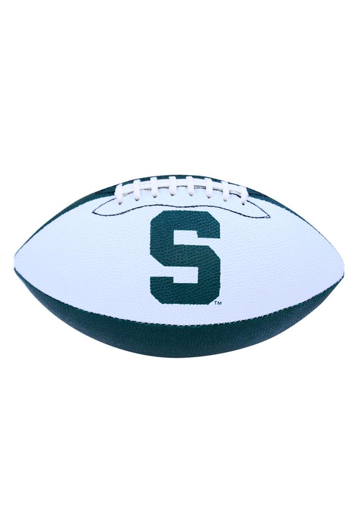 Michigan State Spartans Grip Tech Rubber Football - Image 1