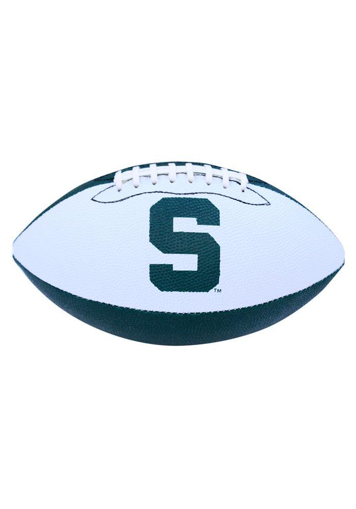 Michigan State Spartans Grip Tech Rubber Football - Image 2