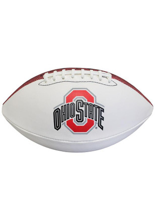 Ohio State Buckeyes Official Team Logo Autographed Football