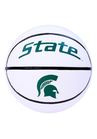 Michigan State Spartans Official Team Logo Autograph Basketball