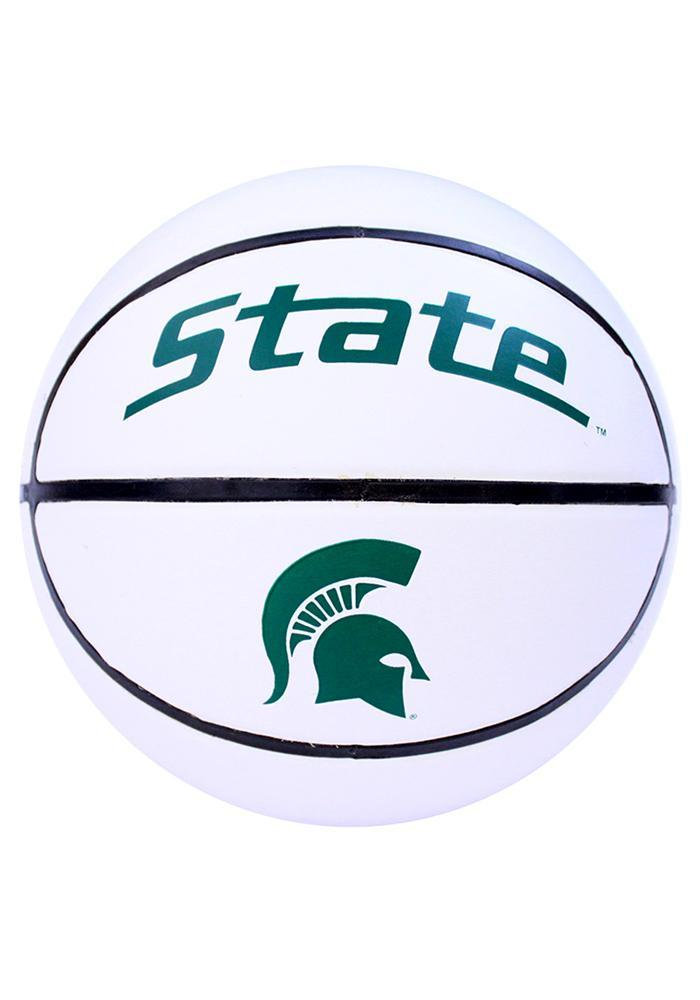 Michigan State Spartans Official Team Logo Autograph Basketball - Image 2