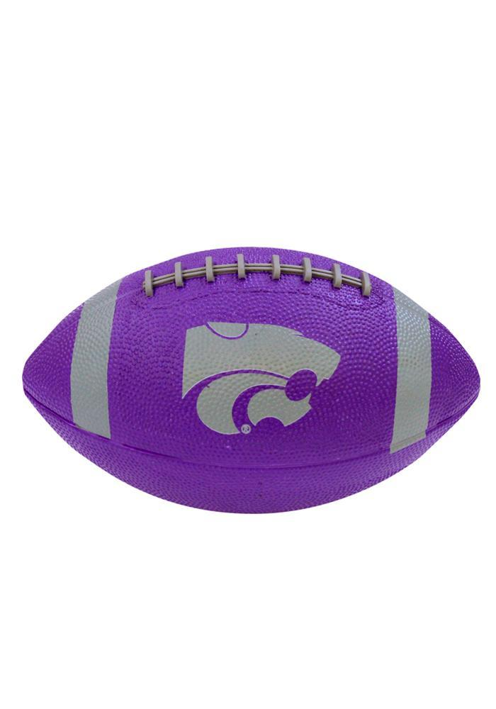 K-State Wildcats Mini Rubber Football - Image 2