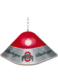 Ohio State Buckeyes Game Table Square Red Billiard Lamp
